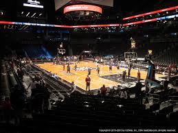 Barclays Center Boxing Seating Chart Barclays Center Section 19 Brooklyn Nets Rateyourseats Com