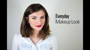 everyday makeup look the very french