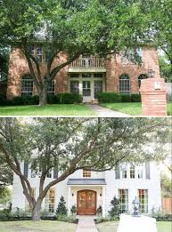 40 Home Exterior Makeover Before And After Ideas Brick Exteriors Mesmerizing Beautifully Painted Houses Exterior Ideas Remodelling