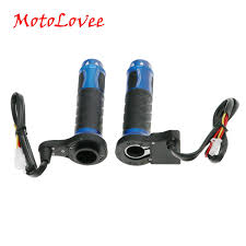 <b>MotoLovee</b> Motorcycle Heated Grips Motorbike ATV Scooter Electric ...