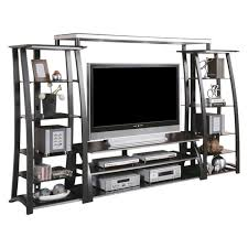 contemporary metal furniture. Contemporary Metal And Glass Wall Unit, ENTERTAINMENT UNITS - Adams Furniture R