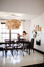 black and white dining room owens and davis z gallerie round