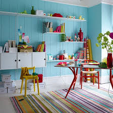 colorful home office. 10 Inspiring Home Offices That Will Make You Want To Work Right Now! Colorful Office