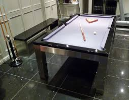 pool table dining tables: montfort lewis silver and black  a montfort lewis silver montfort lewis silver and black