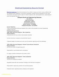 Network Design Engineer Resume Fresh Download Beautiful Electrical