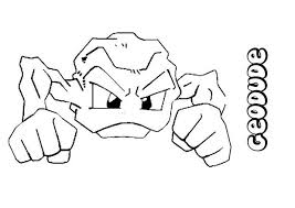 Small Picture Geodude coloring pages Hellokidscom