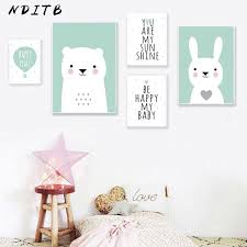 home décor baby animal bear bunny