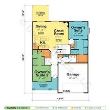 House Plan 4298 Is An Award Winning Mountain Ranch House Plan Two Master