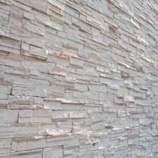 Stone Witte Muur Textuur Decoratieve Interieur Behang Stockfoto