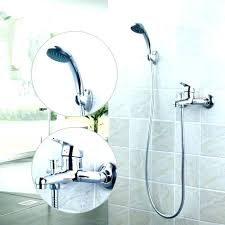 bathtub faucet to shower converter bath tub conversion kit shower pan with exposed bath to converter faucet