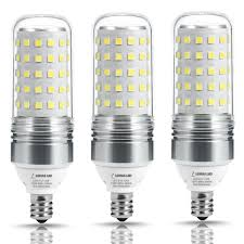 led chandelier light bulbs. LOHAS 100W Equivalent LED Candelabra Light Bulbs,12W Corn Bulb, E12 Base, Led Chandelier Bulbs T