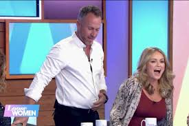 Strictly's James Jordan reveals he's put on THREE stone since Ola fell  pregnant and blames her for 'wanting to eat doughnuts' after being sick  every day for 14 weeks