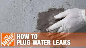 sakrete leak stopper hydraulic cement