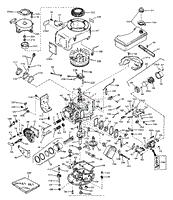 tecumseh v70 125126 parts diagram for engine parts list 1 engine parts list 1