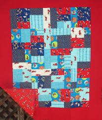 Monkey Tales Baby Boy Quilt- Admit One Fabrics & Monkey Tales Baby Boy Quilt Adamdwight.com