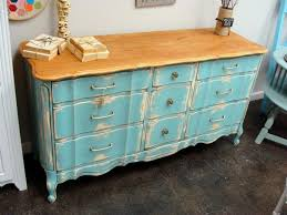 distressed painted furniturefurniture  75 Distressed Furniture Blue Painted Furniture