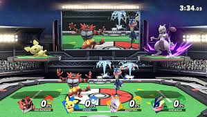 the original super smash bros for nintendo 64 marked the first time that pokémon made the jump from turn based battles to real time bat with pikachu