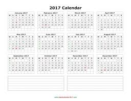 calendars with notes 10 yearly calendar 2018 templates pdf word excel get printable