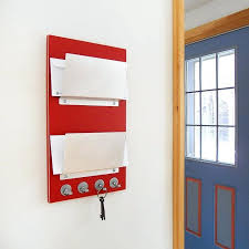 wall organizer for mail decorative letter bins for wall walls decor new mail holder mount with