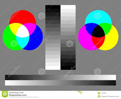 Color Test Chart Stock Illustration Illustration Of Monitor
