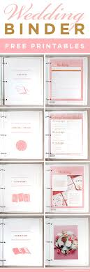 Free Printable Wedding Planner Book World Of Menu And Chart
