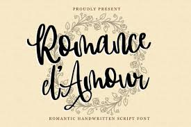 Technique sans free font in free fonts. Romance D Amour Font By Dmletter31 Creative Fabrica