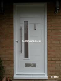 white front doorsContemporary Front Doors oak iroko and other woods Bespoke Doors