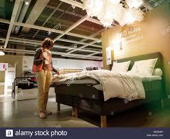 Ikea Bett Stockfotos Ikea Bett Bilder Alamy