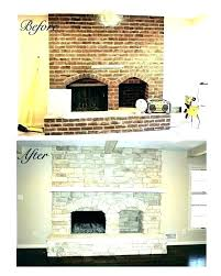 reface brick fireplace fireplace with stone refinish brick fireplace fireplace cost to reface brick fireplace with reface brick fireplace