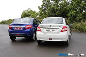 new launched car zestTata Zest vs Maruti Swift DZire Shootout Comparison Review