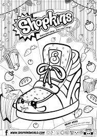 Shopkins Coloring Pages Season 4 Berry Sweet Lolly Tootsie Cutie