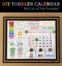 Fabric Days Of The Week Chart Diy Childrens Calendar By Toddler Calendar Kids Calendar