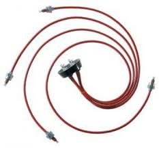 kelly aerospace red ignition harnesses from aircraft spruce slick magneto harness at Lyciming Wiring Harness For Sale