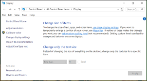 adjust size of image change icon and system text size on windows 10 ask dave taylor