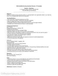 Objective On Resume For Cna Resume Cna Objective Cv Ideas Sensational Certified Nursingstant 10
