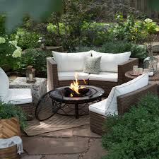 decoration fire pit chairs set outdoor propane area ideas decorating fire pit area ideas lighting