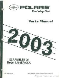 2003 polaris scrambler 90 parts manual 001