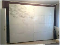 wardrobe sliding doors in ikea pax glass instructions closet