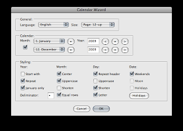 Create Calendars Automatically In Illustrator Version 5 Kelso