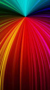 Colorful Rays Fractal Waves 4K Ultra HD ...