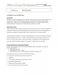 Sample Resume For Entry Level Real Estate Agent New Entry Level Real