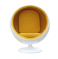 modern chair. Private Space Ball Chair Yellow Modern R