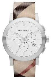 watches to obsess over birthday wishes groom gifts and two tones burberry chronograph check strap watch 42mm available at nordstrom