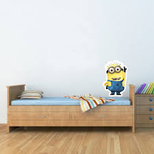 Kids Bedroom Wall Despicable Me Minion Kids Bedroom Decal Wall Window Car Sticker Large