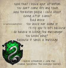 Harry Potter And The Vampire Diaries Images Slytherin Quote By Damon Enchanting Harry Potter Quotes Wallpaper