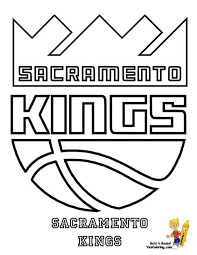 This coloring sheet features the mouse king, the antagonist of this fairy tale. Sacramento Kings Coloring Pages Learny Kids
