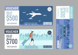 travel voucher template free gift card template free vector art 5 078 free downloads