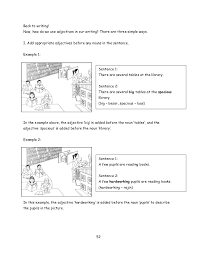 upsr pre writing module sentence construction 51 53 back to writing
