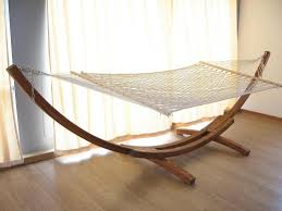 Cool Hammock Furniture Cool Free Standing Hammock With Wood Stand And Wood