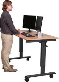 Desk & Workstation Standing Desk Platform Ergo Standing Desk Table Top  Stand Up Desk Standing Work